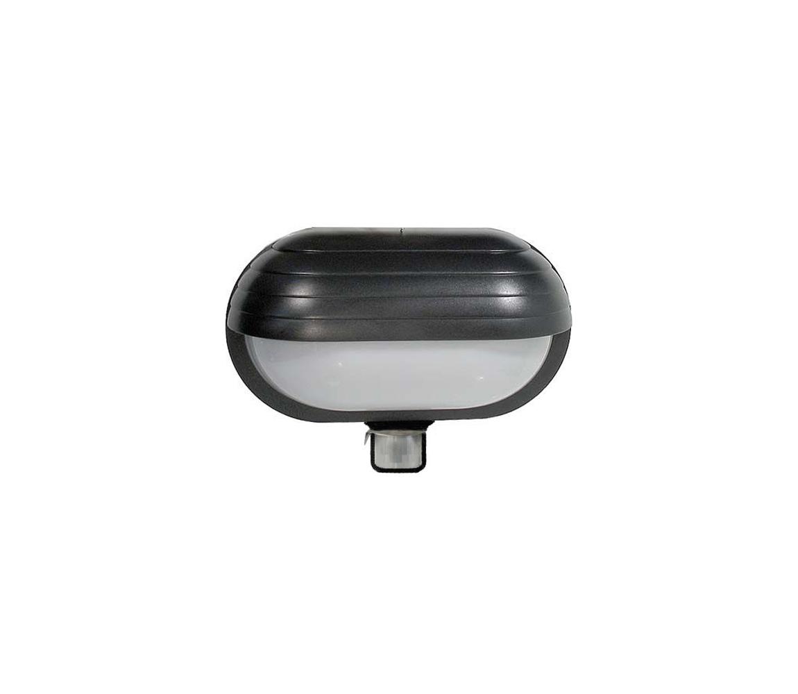Venkovní nástěnné svítidlo s čidlem T261 1xE27/60W/230V HD0004