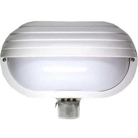Venkovní nástěnné svítidlo s PIR čidlem T259 1xE27/60W/230V