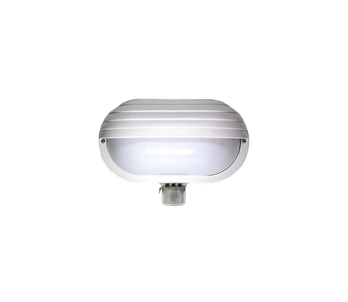 Venkovní nástěnné svítidlo s PIR čidlem T259 1xE27/60W/230V HD0002
