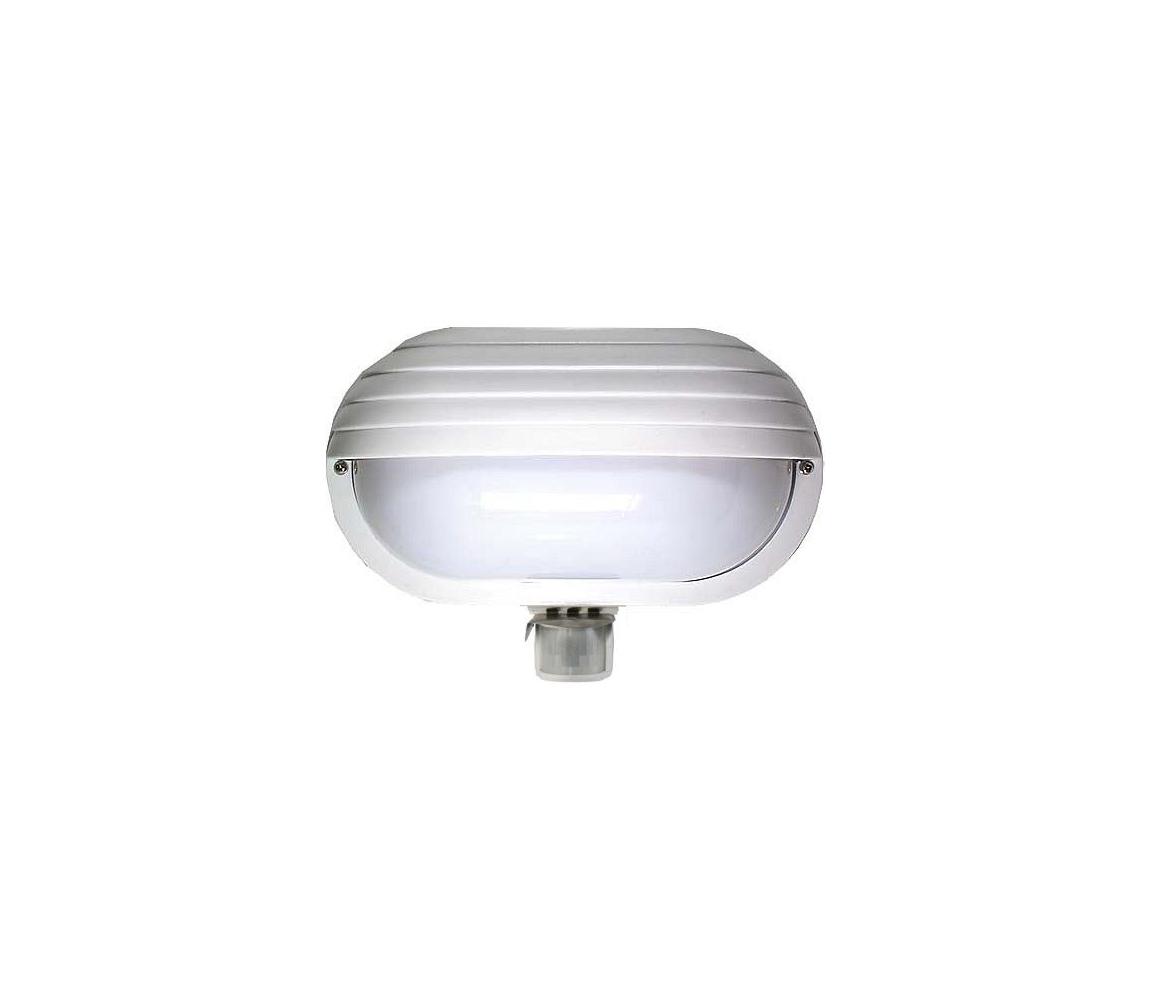 Hadex Venkovní nástěnné svítidlo s PIR čidlem T259 1xE27/60W/230V IP44