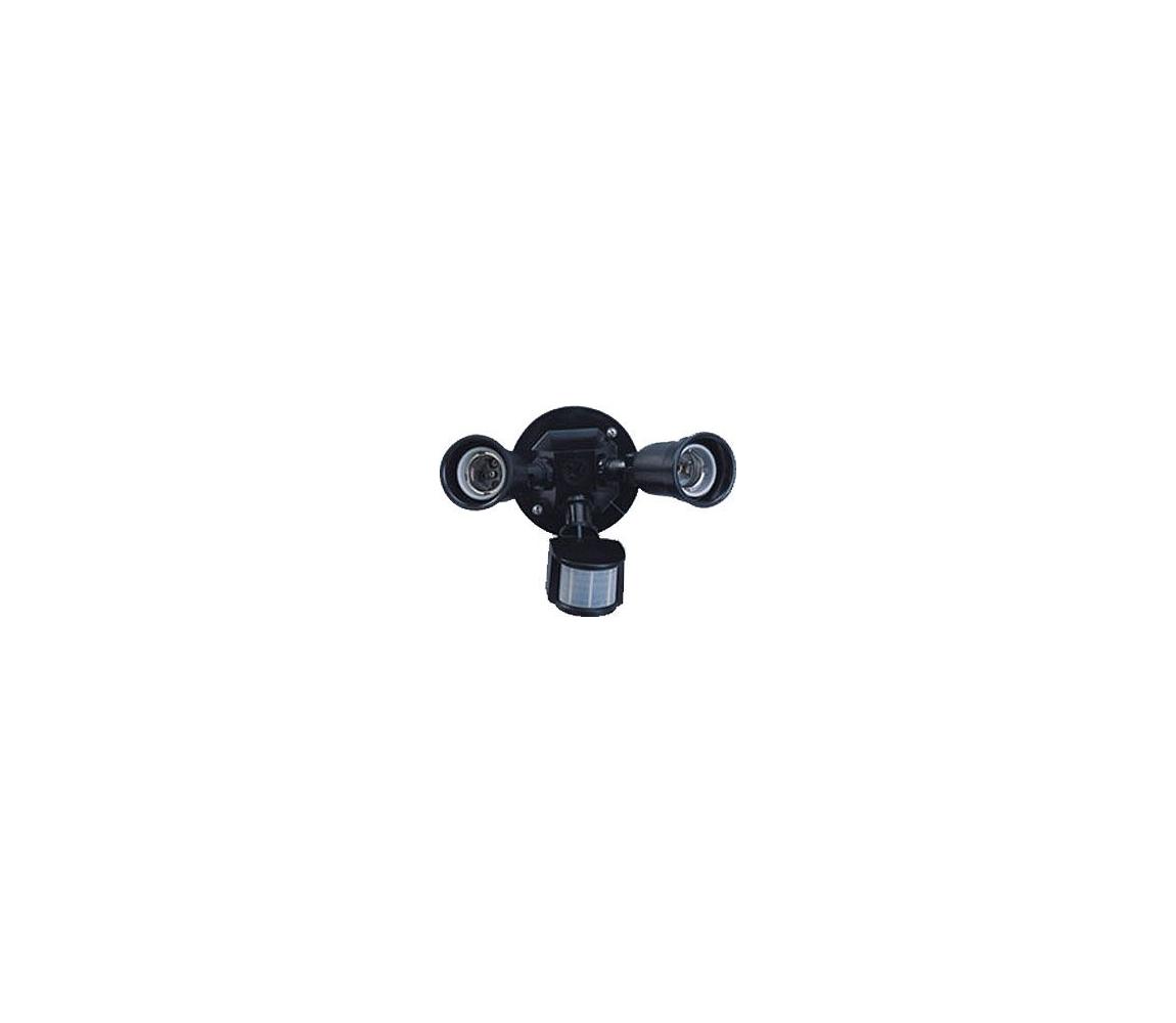 Venkovní nástěnné svítidlo s PIR čidlem T272 2xE27/150W HD0020