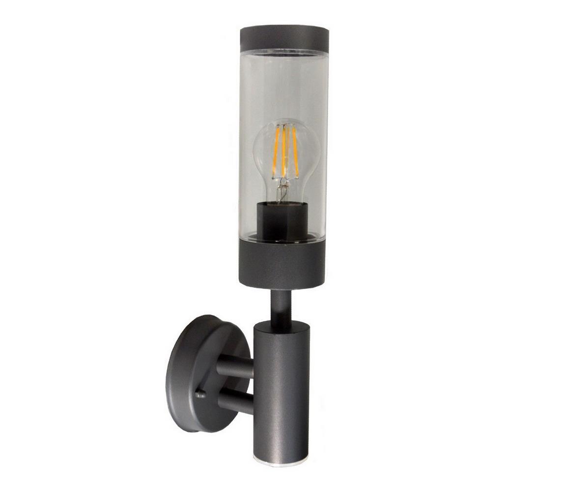 BOWI Venkovní nástěnné svítidlo SAILOR 1xE27/60W/230V IP44 antracit