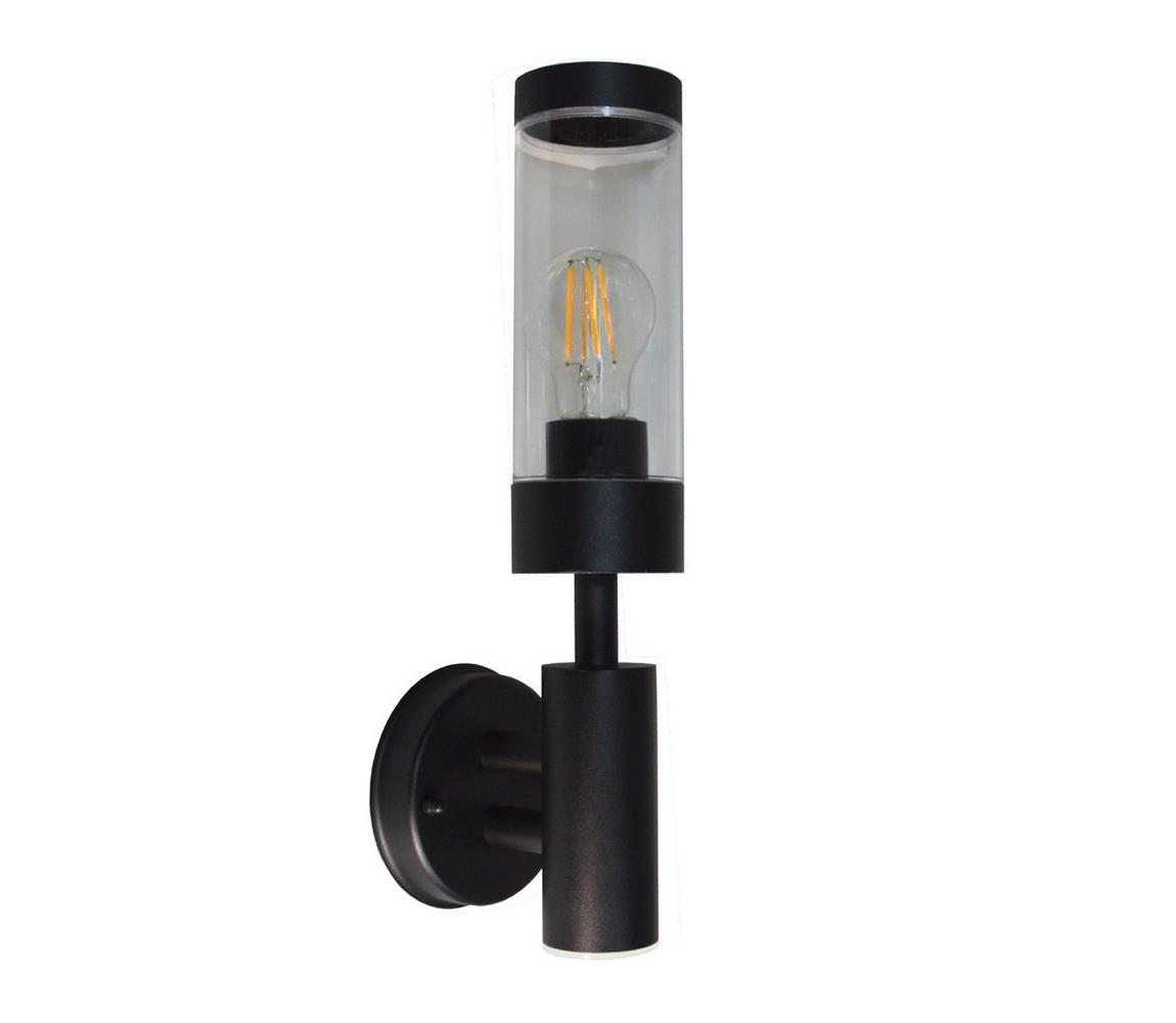 BOWI Venkovní nástěnné svítidlo SAILOR 1xE27/60W/230V IP44 černá