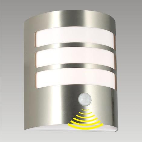 Venkovní nástěnné svítidlo se senzorem TOLEDO 1xE27/11W/230V