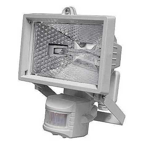 Venkovní reflektor s PIR čidlem T254 1xR7S-78mm/150W bílá