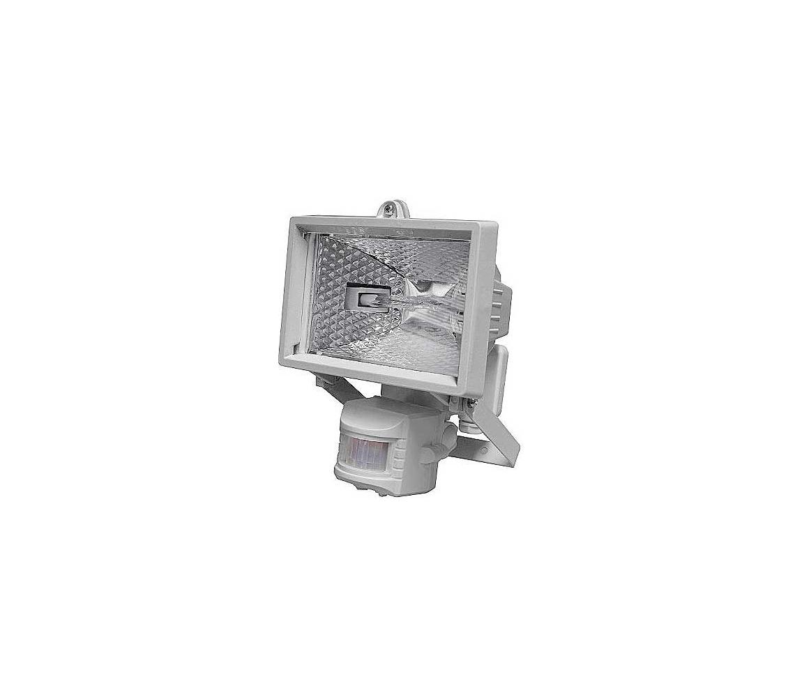 Venkovní reflektor s PIR čidlem T254 1xR7S-78mm/150W bílá IP44 HD0030