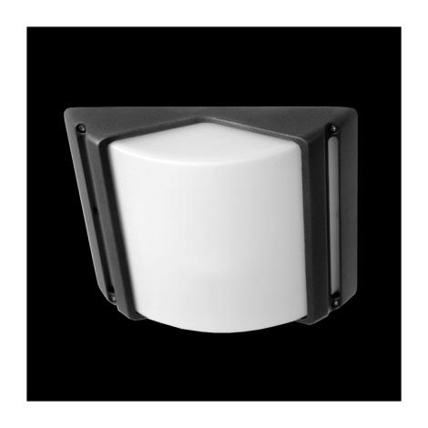 Venkovní stropní svítidlo CITY 1xE27/60W šedá