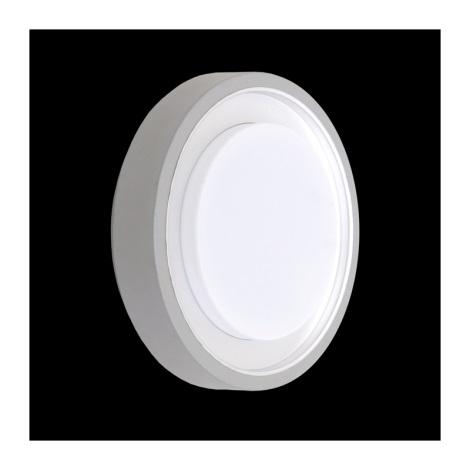 Venkovní stropní svítidlo ORIGO 1xE27/60W stříbrná