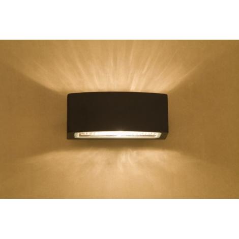 Venkovní svítidlo BRICK - 1xE27/60W/230V