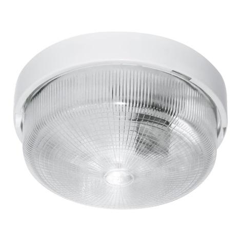 Venkovní technické svítidlo 1xE27/100W bílá IP44