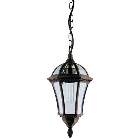 Venkovní závěsné svítidlo CAPRI R 1xE27/100W
