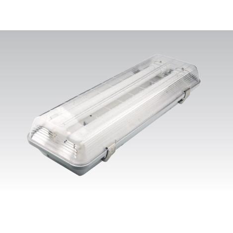 VICTORIA 2x36W PROFI zářivkové svítidlo 2x2G11/36W/230-240V