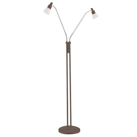 Wofi 3361.02.09.0000 - LED stojací lampa EVE 2xLED/5W/230V