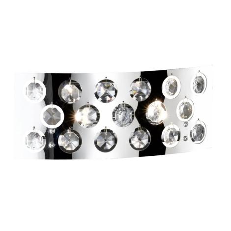 WOFI 4200.02.01.0000 - Nástěnné svítidlo DRESS 2xG9/33W
