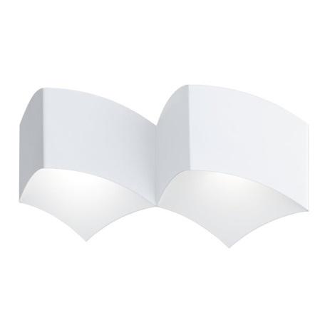WOFI 4340.02.06.0000 - Nástěnné svítidlo CARRE 2xG9/33W