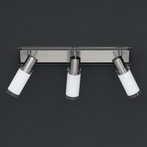 WOFI 7180.03.64.0001 - Bodové svítidlo BERMUDA 3xE14/8W