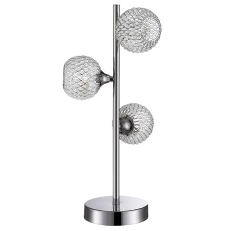 WOFI 8415.03.01.0000 - Stolní lampa PRESTO 3xG9/28W