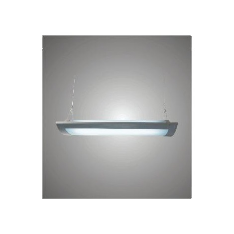 Zářivkové svítidlo FABIA 236 2xT8/36W šedá