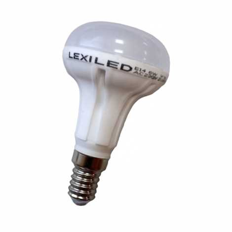 Žárovka LED E14/6W 16x5630 SMD EPISTAR, teplá bílá