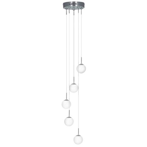 Závěsné svítidlo ATOM 5 5xG9/40W
