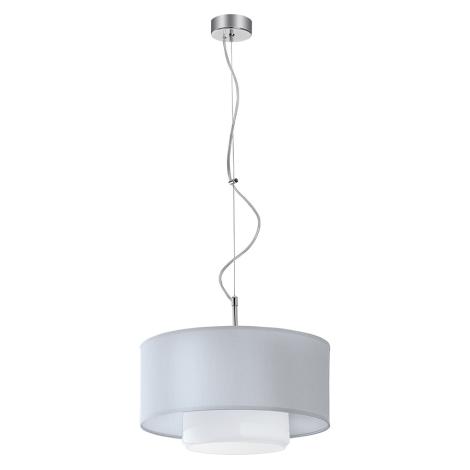 Závěsné svítidlo AVEO 1xE27/80W bílá bílé sklo