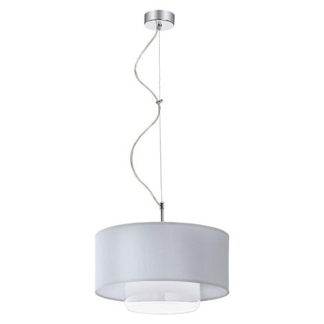 Závěsné svítidlo AVEO 1xE27/80W bílá čiré sklo