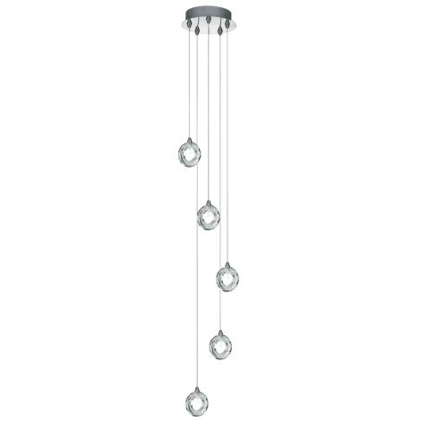 Závěsné svítidlo BAGEL 5 5xG4/20W
