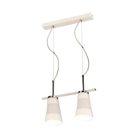 Závěsné svítidlo FARGO 2xE27/60W bílá