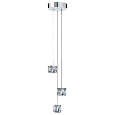 Závěsné svítidlo ICE CUBES 3 3xG4/20W