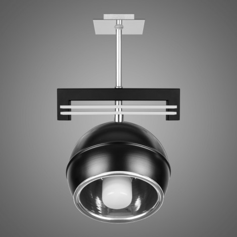 Závěsné svítidlo QUARA SG/KU/1/B 1xE27/60W černá