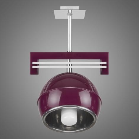 Závěsné svítidlo QUARA SG/KU/1/V 1xE27/60W fialová
