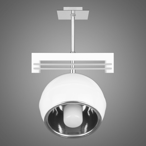Závěsné svítidlo QUARA SG/KU/1/W 1xE27/60W bílá