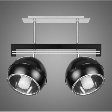 Závěsné svítidlo QUARA SG/KU/2/B 2xE27/60W černá
