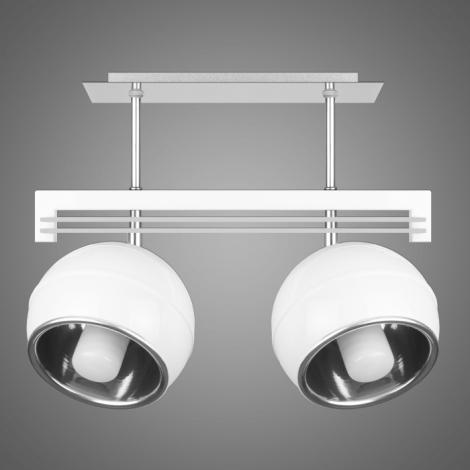 Závěsné svítidlo QUARA SG/KU/2/W 2xE27/60W bílá