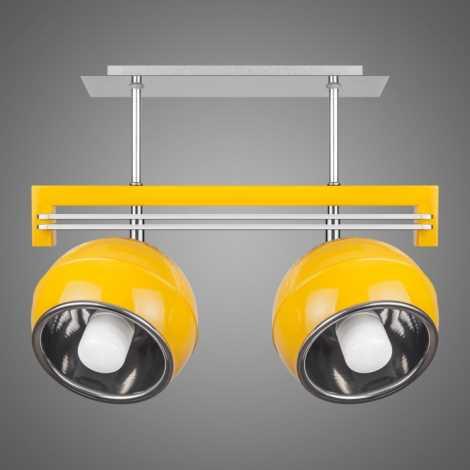Závěsné svítidlo QUARA SG/KU/2/Y 2xE27/60W žlutá
