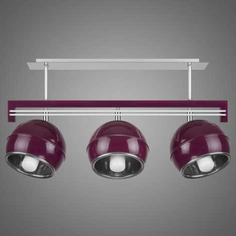 Závěsné svítidlo QUARA SG/KU/3/V 3xE27/60W fialová