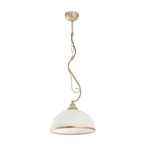 Závěsné svítidlo XSARA 1xE27/60W patina - zlatá