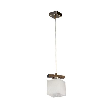 Závěsný lustr POLA PO1 1xE27/60W patina - zlatá
