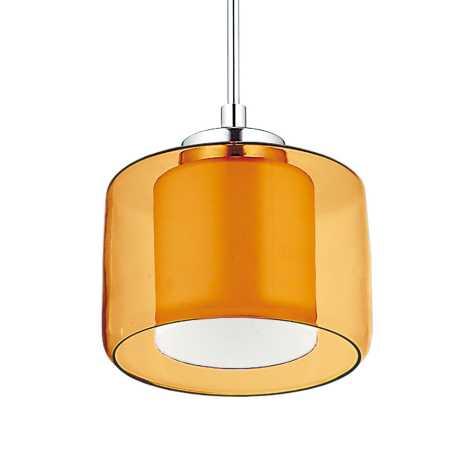 Závěsný lustr TOOD 1xE27/60W žlutá